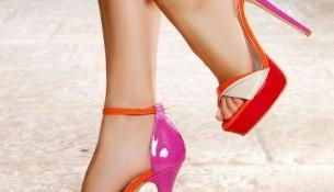 Renkli Topuklu Ayakkabı Modası