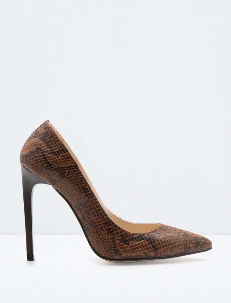 Vizon Desenli Çok Hoş Koton Ayakkabı Modelleri