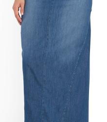 Cep Detaylı Uzun Kot Etek Modelleri 2016