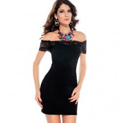 En Moda Güpürlü Genç Bayan Elbise Modelleri