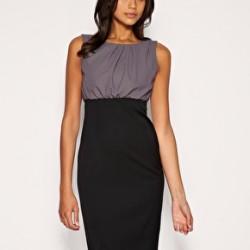 Günlük Kıyafet Kalem Etek Elbise Modelleri 2016