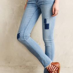 Yamalı ve Püsküllü Jean Pantolon Modelleir