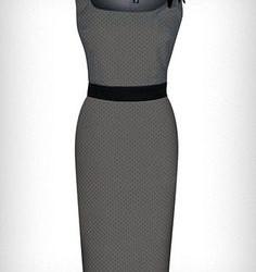 Yeni Sezon Kolsuz Kalem Etek Elbise Modelleri