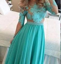 En İddialı Uzun Şifon Detaylı Kloş Elbise Modelleri