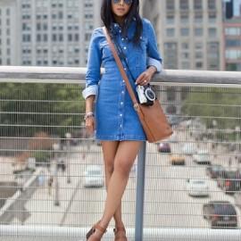 En İddialı Yazlık Jean Elbise Kombinleri