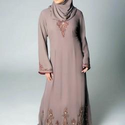 En Güzel Etnik Tesettür Elbise Modelleri