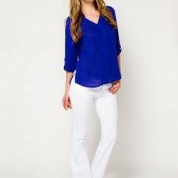 Saks Mavisi Bluz Modelleri 2016