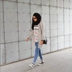 Stil Tesettür Sokak Modası Kombinleri