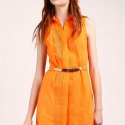 Çok Şık Kemer Detaylı Günlük Elbise Modelleri