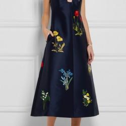 En Şık İşlemeli Elbise Modelleri
