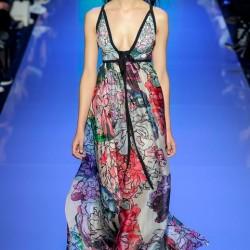 En Cesur Çiçek Desenli Elbise Modelleri 2016