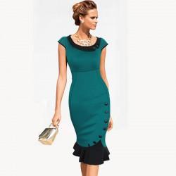 En Güzel Balık Etek Elbise Modelleri