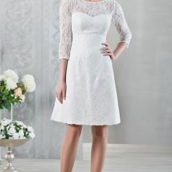 En Sade Dantelli Elbise Modelleri