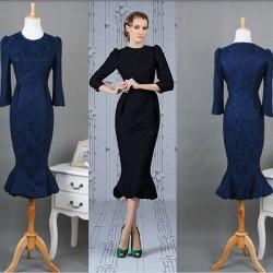 En Zarif Balık Etek Elbise Modelleri