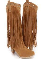 Oldukça Zarif Uzun Püsküllü Çok Şık Çizme Modelleri