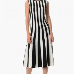 Çizgi Detaylı Oldukça Hoş NetWork Elbise Modelleri