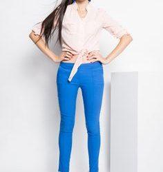 En Tarz Mavi Pantolon Kombinleri