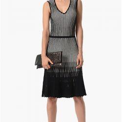 Desenli Çok Kibar 2016 / 2017 NetWork Elbise Modelleri