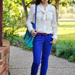 En Kibar Mavi Pantolon Kombinleri