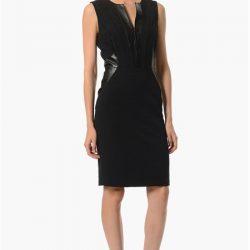 Siyah Çok Şık NetWork Elbise Modelleri