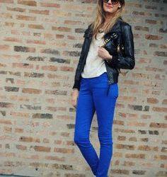 En Uyumlu Olan Mavi Pantolon Kombinleri