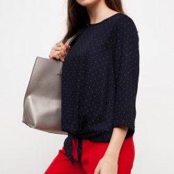 Önden Bağlamalı Çok Kibar Defacto Bluz Modeli