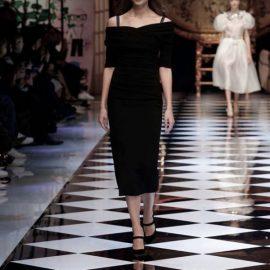 Taylor Marie, Hill Dolce ve Gabbana Sonbahar Kış 2016-17 Modelleri