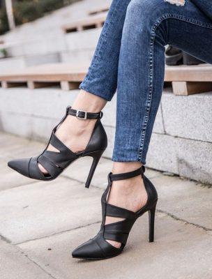 Yüksek Topuklu Bayan Ayakkabı Modelleri 2017