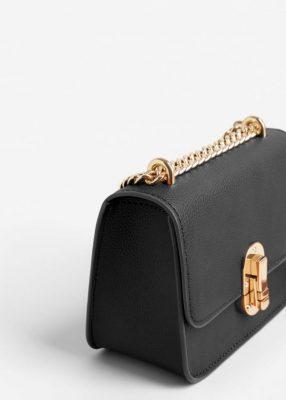 En Tarz Bayanlar İçin Zincir Detaylı Avuç İçin Mango Çanta Modelleri