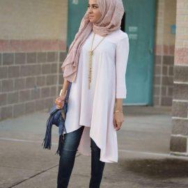En Güzel Tesettür Sokak Modası Kıyafetleri