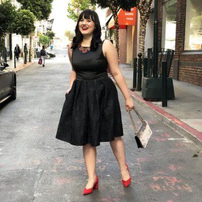 Kilolu Bayanlar İçin Günlük Elbise Modelleri 2019