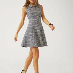 Bebe Yaka Mini Kloş Elbise Kombinleri 2019