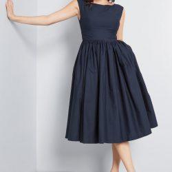 En Yeni Kloş Elbise Modelleri 2019
