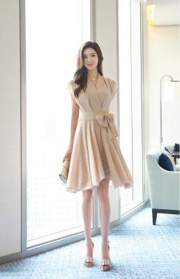 En Şık Kloş Elbise Modelleri 2021