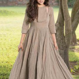 Uzun Kloş Elbise Modelleri 2021